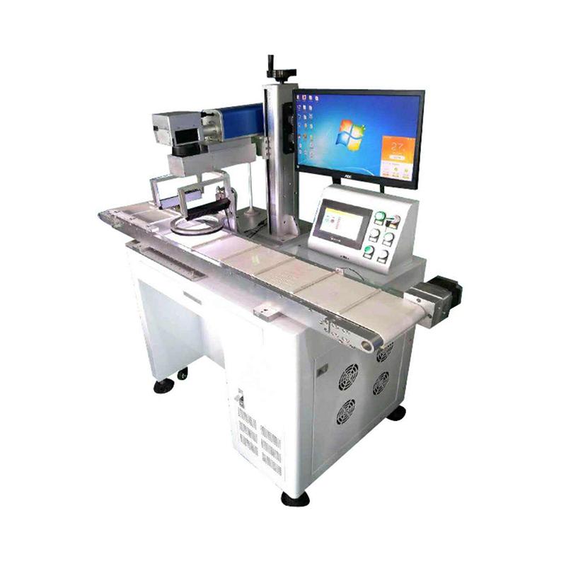 在线视觉定位激光打标机